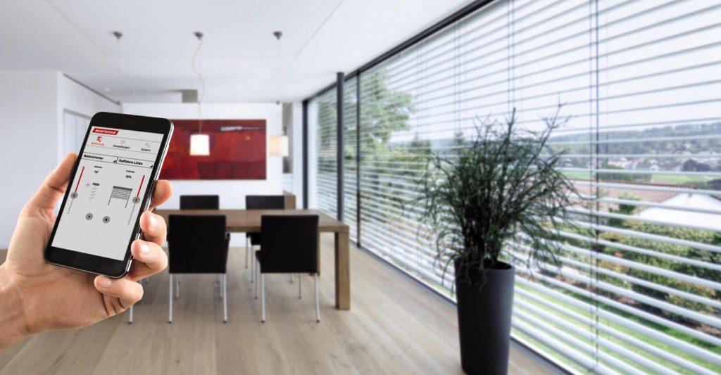smart home sonnenschutz steuerung